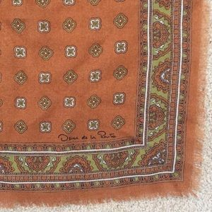 Accessories - Vintage Bohemian Square Scarf